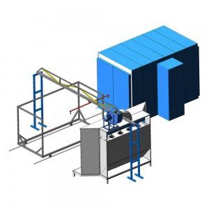 Компактная линия порошковой окраски металлической мебели и оборудования